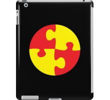 jigsaw in a circle iPad Case/Skin