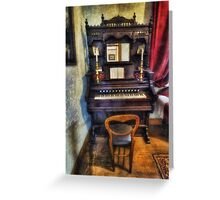 Love Is Called My Old Piano Greeting Card