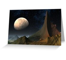 Mysterious Mars Greeting Card