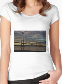 Humberbridge Women's Fitted Scoop T-Shirt