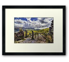 Gateway To Freedom Framed Print