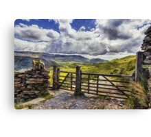 Gateway To Freedom Canvas Print
