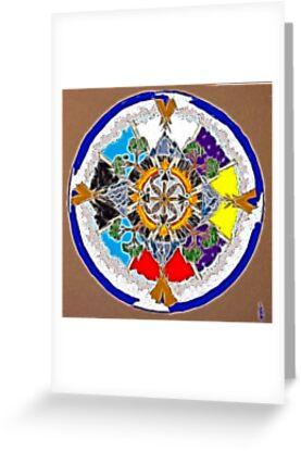 Sacred Space Mandala by tkrosevear