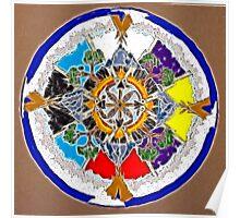 Sacred Space Mandala Poster
