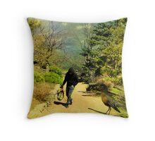 Bird + Matt Throw Pillow