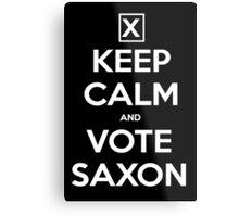 Vote Saxon  Metal Print