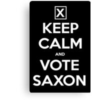 Vote Saxon  Canvas Print