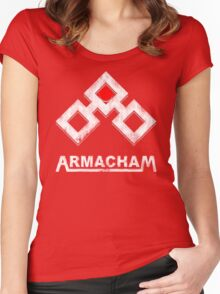 Armacham Women's Fitted Scoop T-Shirt