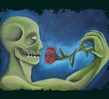 the zombie rose by poccas