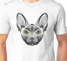 Sphynx Cat Illustration Unisex T-Shirt