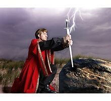 The sword and the stone Photographic Print