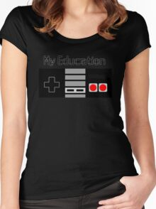 nintendo Women's Fitted Scoop T-Shirt