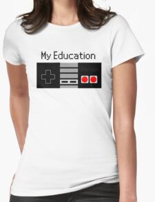 nintendo Womens Fitted T-Shirt
