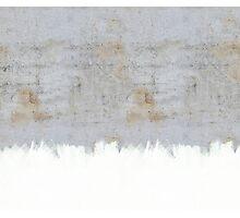 Painting on Raw Concrete Photographic Print