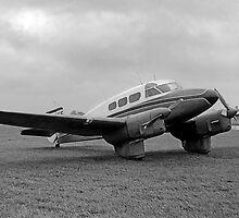 Percival Q-Six Petrel G-AEYE by Colin Smedley