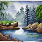 another landscape (* featured in fantastic primitive art*) by sneha