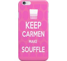Keep Carmen make Souffle iPhone Case/Skin