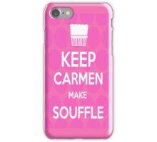 Keep Carmen make Souffle iPhone Case/Skin