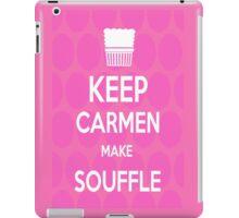 Keep Carmen make Souffle iPad Case/Skin