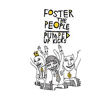 Foster The People Pumped up kicks Photographic Print