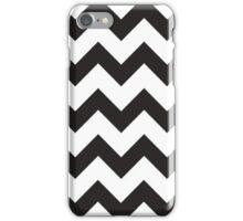 Black & White Chevron iPhone Case/Skin