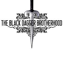 The Black Dagger Brotherhood  [black text] by 8Bit-Paws