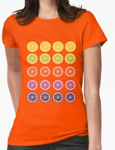 Citric Spectrum  Womens Fitted T-Shirt