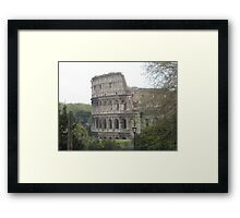 Il Colosseo, Roma Framed Print