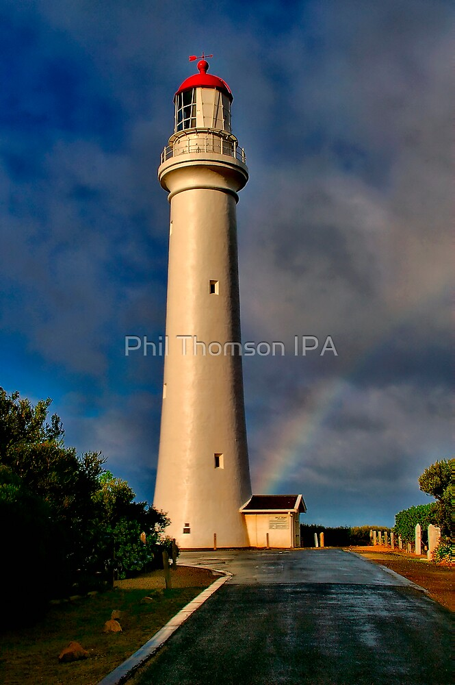 """""""Light At The End The Rainbow"""" by Phil Thomson IPA"""