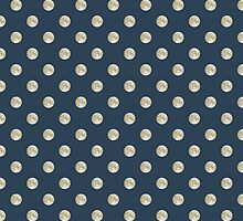 Full Moon Polka Dot by Paula Belle Flores