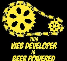 THIS WEB DEVELOPER IS BEER POWERED by fancytees
