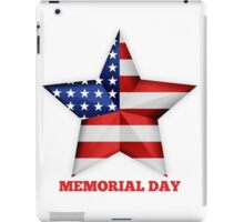 Memorial Day iPad Case/Skin
