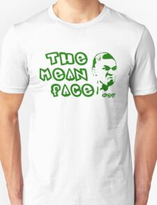 The Mean Face of the Greek Freak Unisex T-Shirt