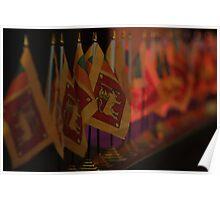 Sri Lanka Flags Poster