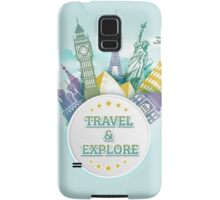 Travel & Explore Samsung Galaxy Case/Skin