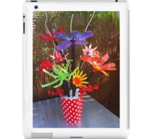 Recycled Bouquet iPad Case/Skin