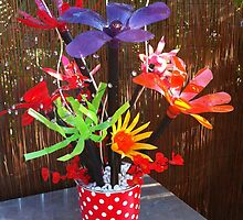 Recycled Bouquet by Re-Cre8Tiv
