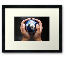 Global Awareness Framed Print