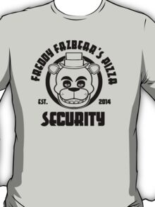 Freddy's security T-Shirt