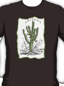 Arizona Saguaro art T-Shirt