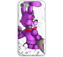Bonnie The Bunny Shirt - Lets Rock! iPhone Case/Skin