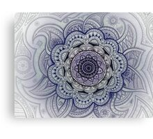Mandala Purple Canvas Print