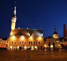 Tallinn Raekoja Plats by ardwork
