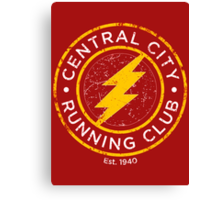 The Flash - Running Faster Than Light SInce 1940 Canvas Print