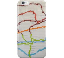 london lego underground map iPhone Case/Skin