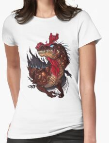 Cryolophosaurus Rampage Womens Fitted T-Shirt