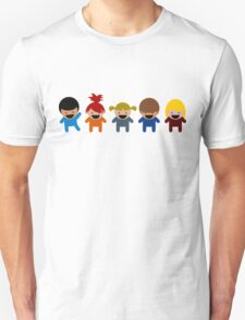 Cartoon Kid Characters T-Shirt