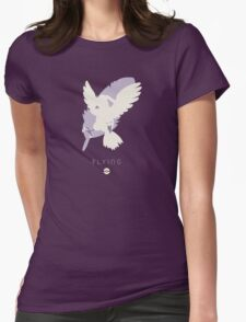 Pokemon Type - Flying Womens Fitted T-Shirt
