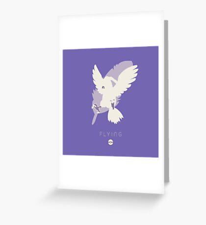 Pokemon Type - Flying Greeting Card