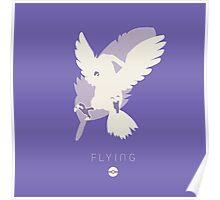 Pokemon Type - Flying Poster